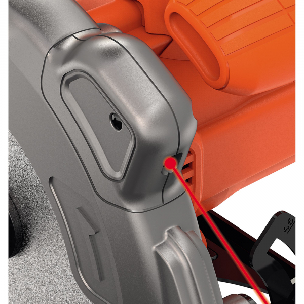 Fierastrau Circular Black & Decker CS1250LA, 1250W, 3400rpm, 170mm, Laser, disc inclus 5