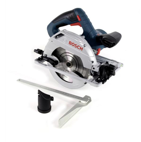 Fierastrau circular Bosch GKS 55+ GCE, 1350W, 4700RPM, 165mm 2