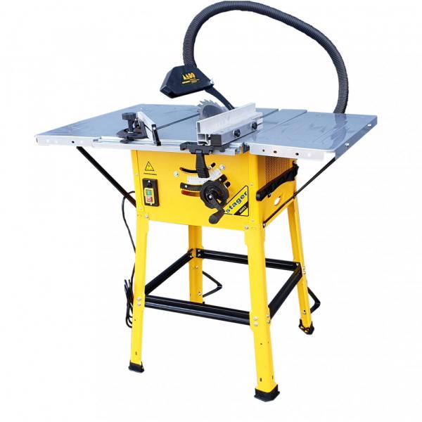 Fierastrau circular cu masa Stager 65052, 1600W, 4200 rpm, 250mm 1