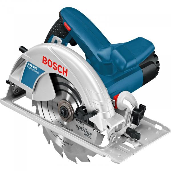 Fierastrau circular Bosch Professional GKS 190, 1400 W, 5500 RPM, 190 mm 0