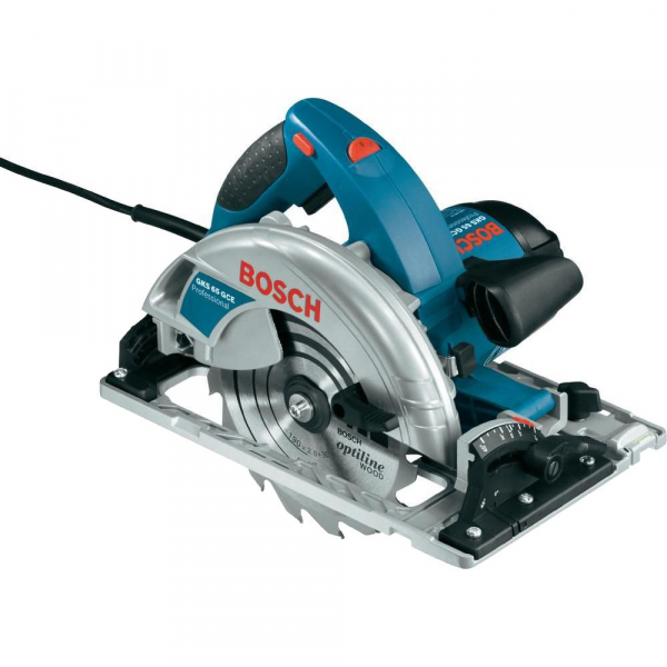 Fierastrau circular Bosch GKS 65 GCE, 1800 W, 5000 RPM 0