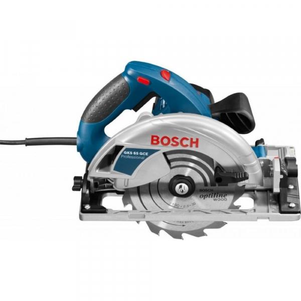 Fierastrau circular Bosch GKS 65 GCE, 1800 W, 5000 RPM 1