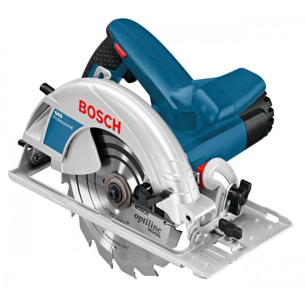 Fierastrau circular Bosch GKS 165, 1100W, 4900RPM, 165mm [0]