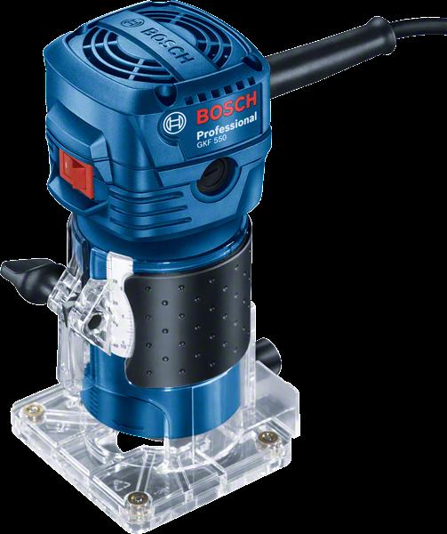 Pachet Fierastrau pendular Bosch GST 700 si Masina de Frezat Bosch GKF 550 2
