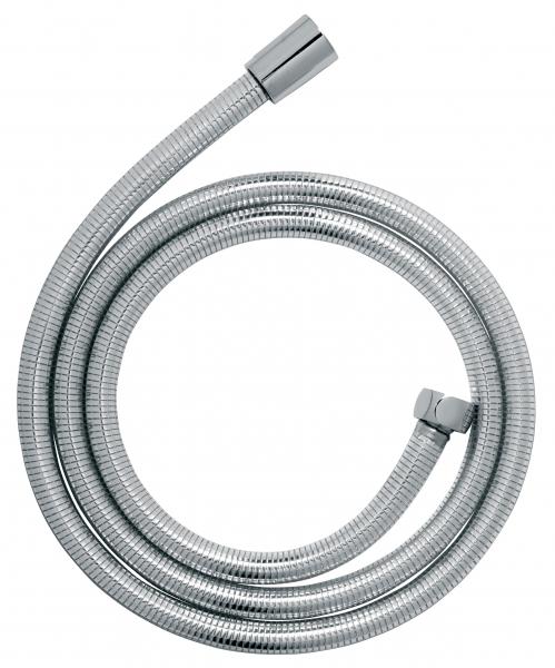 Furtun flexibil dus conic FERRO W53, PVC SilverFlex 150 cm,  argintiu 0
