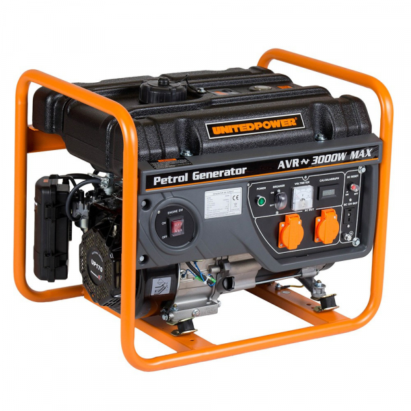Generator curent electric pe benzina Stager GG 3400, 2.600 W 1