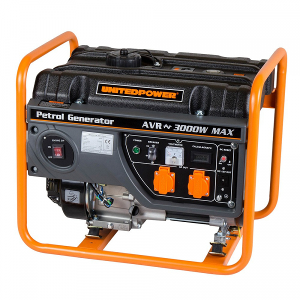 Generator curent electric pe benzina Stager GG 3400, 2.600 W 2