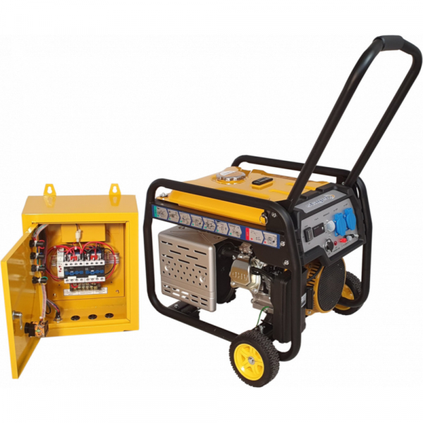 Generator curent electric automat pe benzina Stager FD 3600E+ATS, 2.8KW, pornire electrica, kit automatizare 2