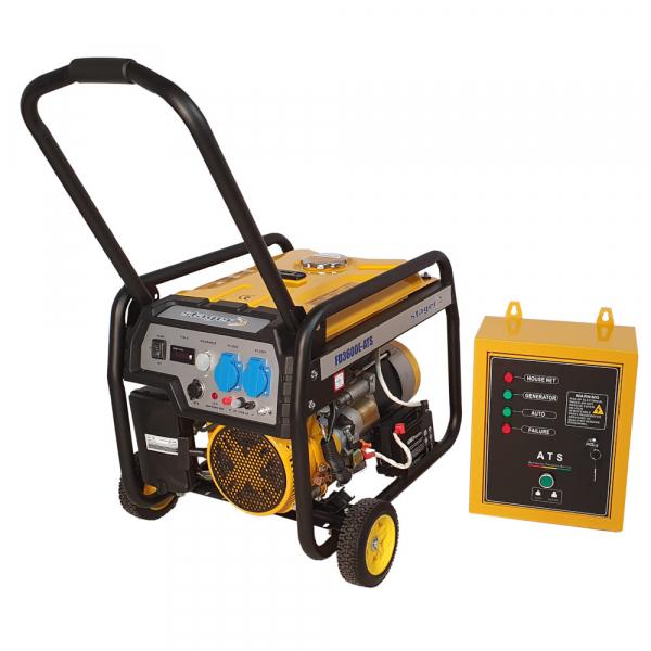 Generator curent electric automat pe benzina Stager FD 3600E+ATS, 2.8KW, pornire electrica, kit automatizare 0