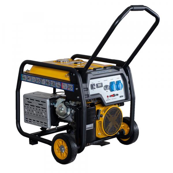Generator curent electric pe benzina Stager FD 7500E, 6Kw, pornire electrica 1