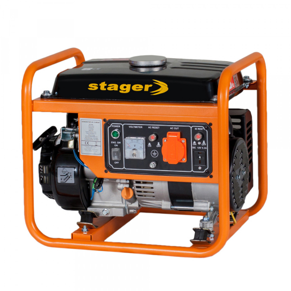 Generator curent electric pe benzina Stager GG 1356, 1.100 W, Autonomie 7.5 h 1