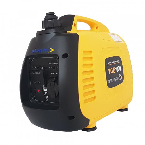 Generator curent electric pe benzina Stager YGE1000i, 1Kw, invertor digital, sfoara 3