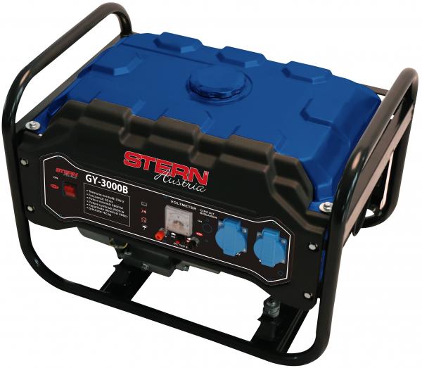 Generator curent electric pe benzina Stern GY3000B, 2.500/3000 W, 212cm3, 15L, 12 ore autonomie 0
