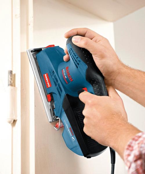 Slefuitor cu vibratii Bosch GSS 23 A, 190W, 92x182mm 2