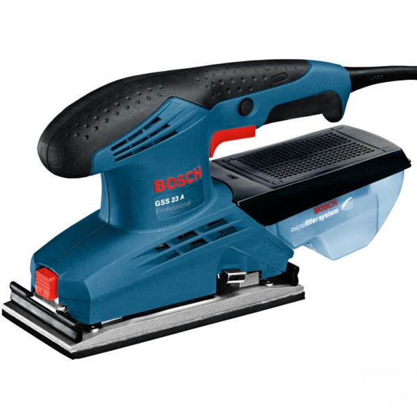 Slefuitor cu vibratii Bosch GSS 23 A, 190W, 92x182mm 0