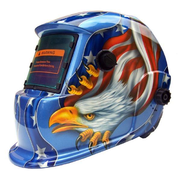 Masca de sudura automata Intensiv 9-13 Eagle, reglabil, solar+baterie, 0.04ms, DIN16 0