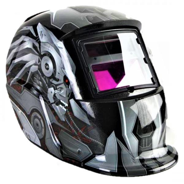 Masca de sudura automata Intensiv 9-13 Transformers, reglabil, solar+baterie, 0.04ms, DIN16 1