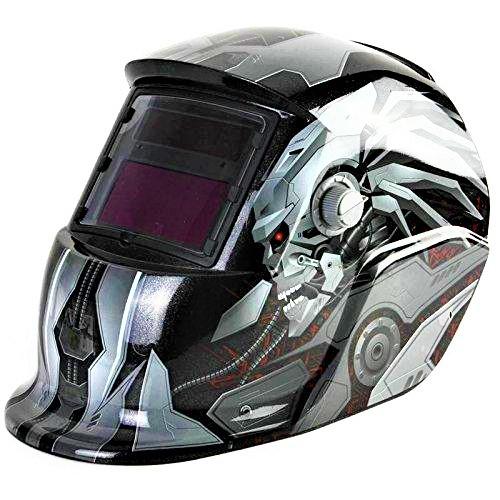 Masca de sudura automata Intensiv 9-13 Transformers, reglabil, solar+baterie, 0.04ms, DIN16 0