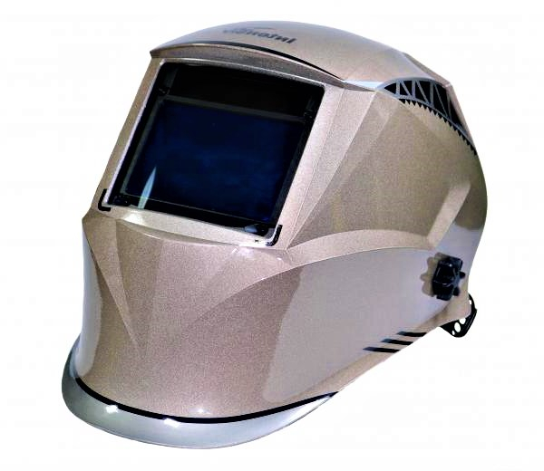 Masca de sudura automata Intensiv 9-13 Cronos, reglabil, 4 senzori, solar+baterie, 0.04ms, DIN16 0