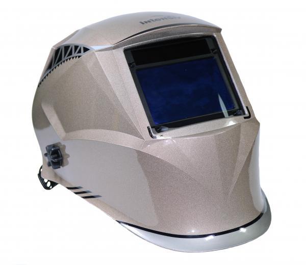Masca de sudura automata Intensiv 9-13 Cronos, reglabil, 4 senzori, solar+baterie, 0.04ms, DIN16 2