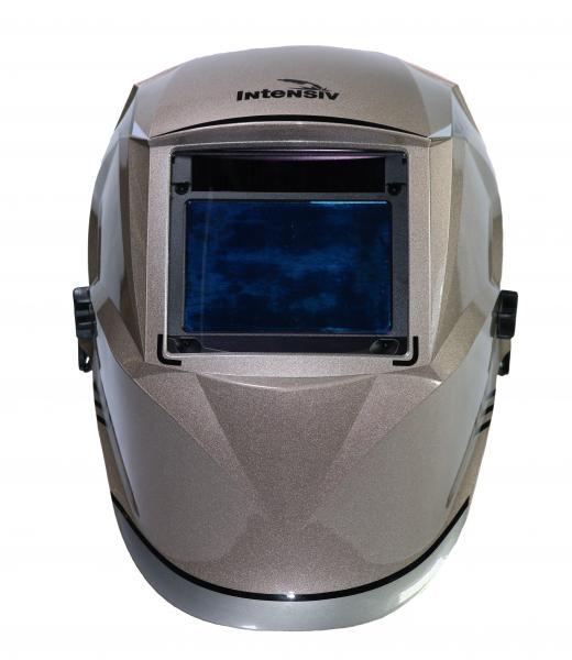 Masca de sudura automata Intensiv 9-13 Cronos, reglabil, 4 senzori, solar+baterie, 0.04ms, DIN16 1