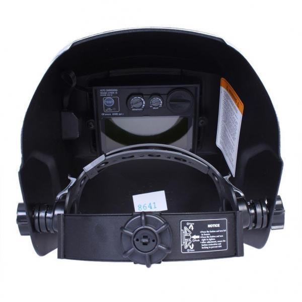 Masca de sudura automata Intensiv 9-13 Blue, reglabil, solar+baterie, 0.04ms, DIN16 1