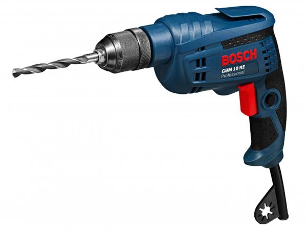 Masina de gaurit si insurubat (bormasina) Bosch GBM 10 RE, 600 W, 2600 RPM [0]