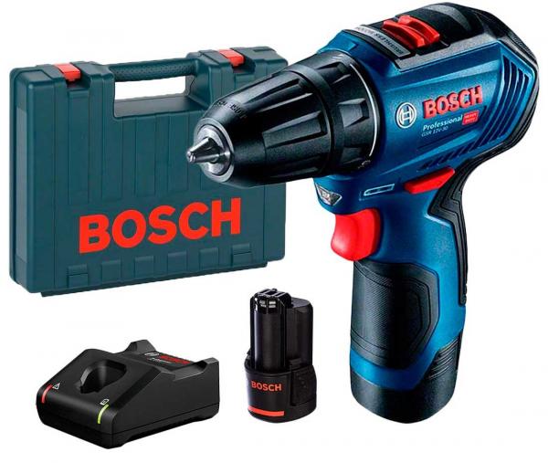 Masina de gaurit si insurubat (bormasina) Bosch GSR 12V-30, 12 V, 1600 rpm, 30 Nm [0]