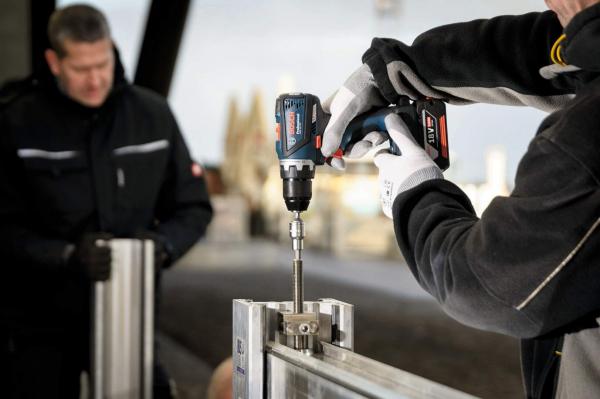 Masina de gaurit si insurubat (bormasina) Bosch GSR 18 V-EC, 18 V, 5Ah, 60 Nm, 2 acumulatori si incarcator 4