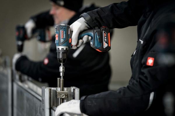 Masina de gaurit si insurubat (bormasina) Bosch GSR 18 V-EC, 18 V, 5Ah, 60 Nm, 2 acumulatori si incarcator 5