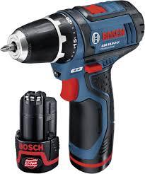 Masina de gaurit si insurubat (bormasina) Bosch GSR 10,8-2-LI, 10.8 V, 2 Ah, 30 Nm, 2 acumulator si incarcator 1