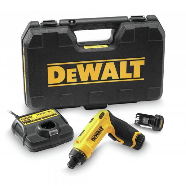 Masina de insurubat DeWALT DCF680G2, 7.2 V, 1 Ah, 4 Nm, 2 acumulatori, incarcator 0