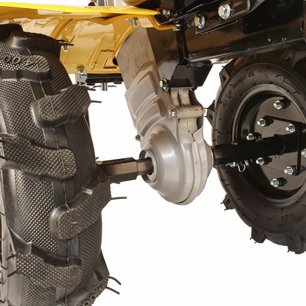 Motosapa benzina (motocultor) ProGARDEN PRO 7, 7CP, 85CM, roti, lame, discuri 3