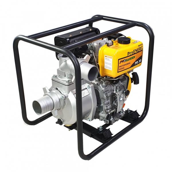 """Motopompa diesel ProGARDEN PD30, 5CP, 35m3/h, 80mm/3"""", apa curata 0"""
