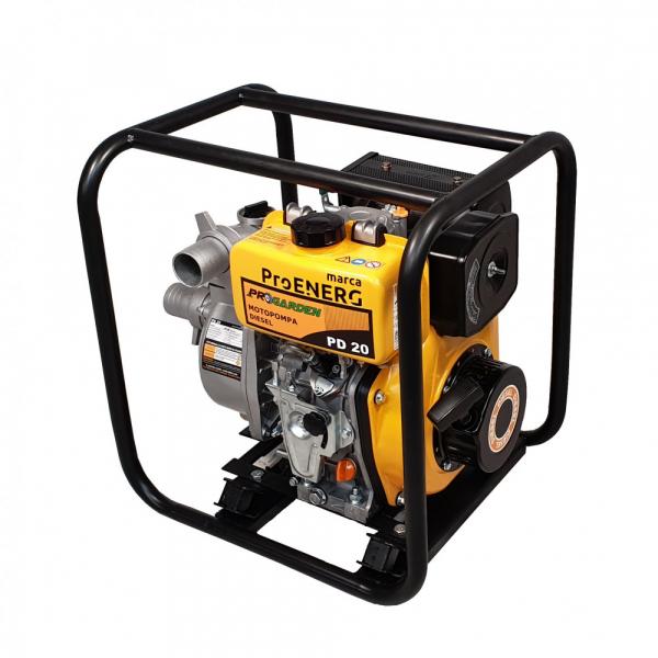 """Motopompa diesel ProGARDEN PD20, 3.5CP, 2""""/50mm, apa curata 2"""