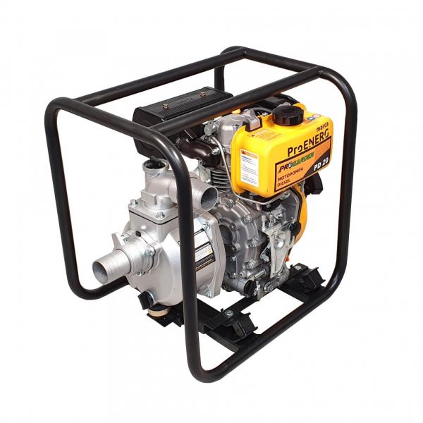 """Motopompa diesel ProGARDEN PD20, 3.5CP, 2""""/50mm, apa curata 0"""