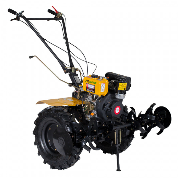 Motosapa diesel (motocultor) ProGARDEN HS1100A, 7CP, 120CM, roti, lame, discuri 1