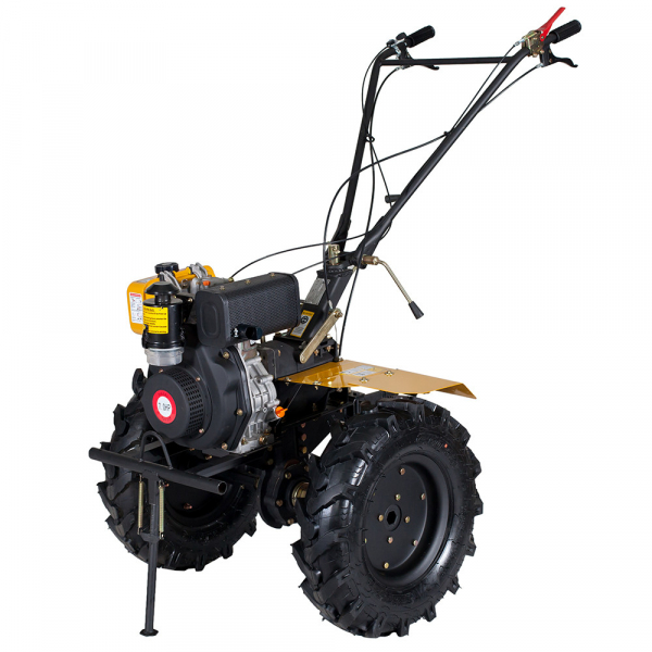 Motosapa diesel (motocultor) ProGARDEN HS1100A, 7CP, 120CM, roti, lame, discuri 0