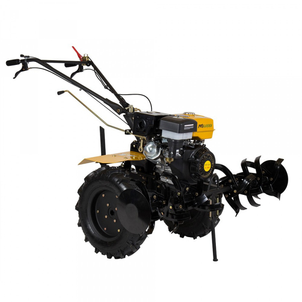 Motosapa benzina (motocultor) ProGARDEN HS 1100D, 13CP, 110CM, roti, lame, discuri, far LED 3
