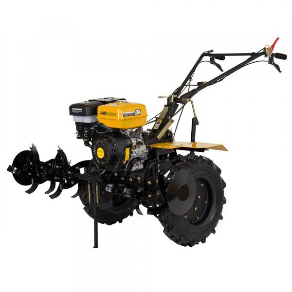Motosapa benzina (motocultor) ProGARDEN HS 1100D, 13CP, 110CM, roti, lame, discuri, far LED 0
