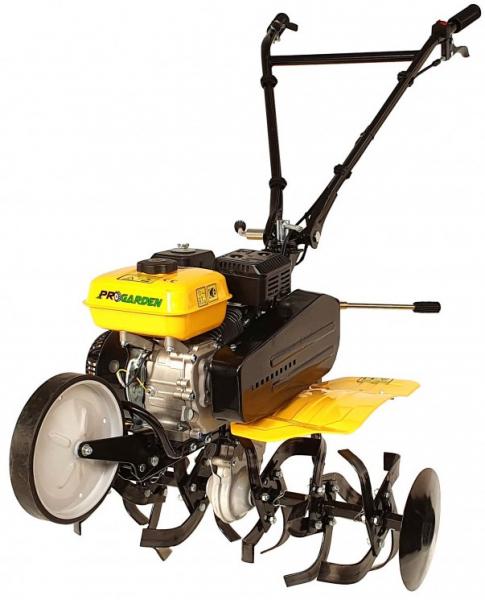Motosapa benzina (motocultor) ProGARDEN PRO 7, 7CP, 85CM, roti, lame, discuri 5