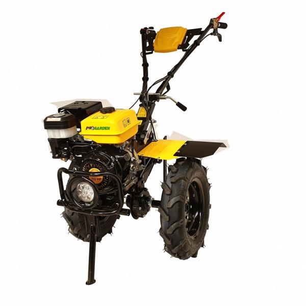 Motosapa benzina (motocultor) ProGARDEN PRO 15, 15CP, 135CM, roti, lame, discuri, far LED 2