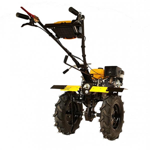Motosapa benzina (motocultor) ProGARDEN PRO 15, 15CP, 135CM, roti, lame, discuri, far LED 1