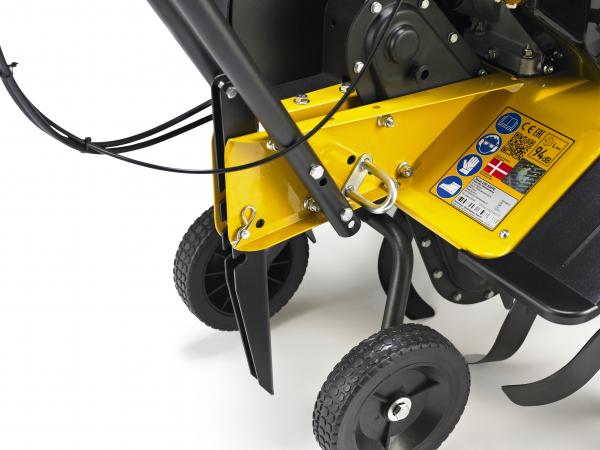 Motosapa benzina (motocultor) Texas Lilli 534TG, 5.6CP, 85CM, roti ajutatoare, lame 2