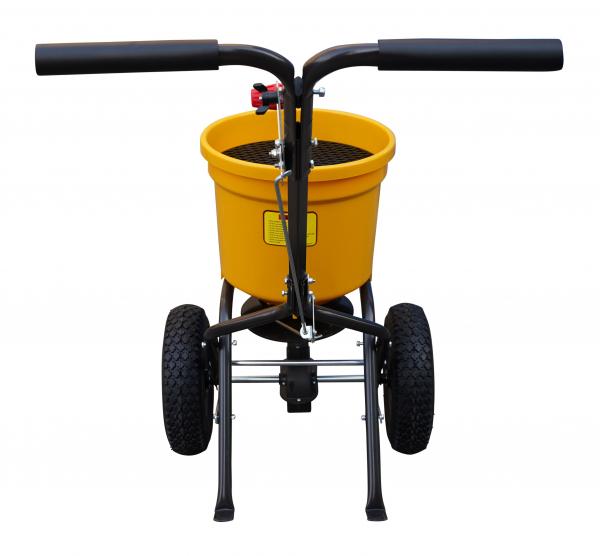 Carucior pentru imprastiat (dispersor) Texas CS2500, 25l, 2metri, pentru seminte/ingrasamant/nisip/sare de drum 4
