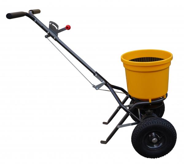Carucior pentru imprastiat (dispersor) Texas CS2500, 25l, 2metri, pentru seminte/ingrasamant/nisip/sare de drum 3