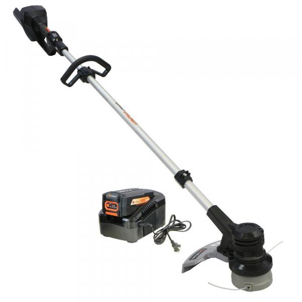 Pachet trimmer iarba cu acumulator (motocoasa) Redback EA314, 120V, 2Ah cu acumulator si incarcator 0