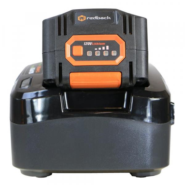 Pachet trimmer iarba cu acumulator (motocoasa) Redback EA314, 120V, 2Ah cu acumulator si incarcator 5