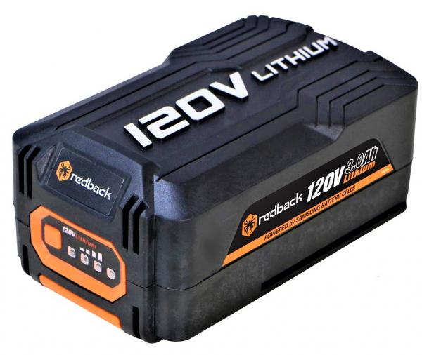 Pachet trimmer iarba cu acumulator (motocoasa) Redback EA314, 120V, 3Ah cu acumulator si incarcator rapid 3