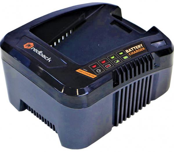 Pachet trimmer iarba cu acumulator (motocoasa) Redback EA314, 120V, 3Ah cu acumulator si incarcator rapid 5
